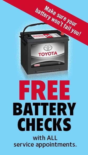 Free Battery Checks